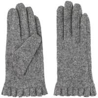 Accessoires Damen Handschuhe Pieces  Gris