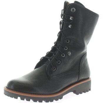 Schuhe Damen Stiefel Regarde Le Ciel Stiefeletten NIKA-14-4665 schwarz