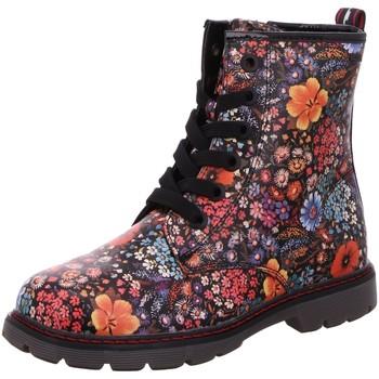 Schuhe Jungen Stiefel Tom Tailor Schnuerstiefel 2171603 schwarz