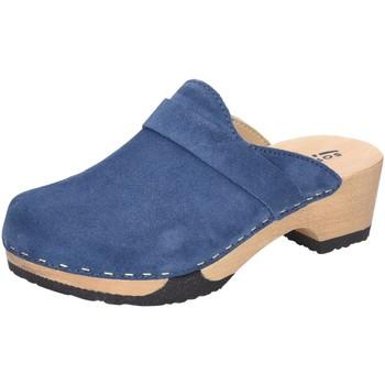 Schuhe Damen Pantoletten / Clogs Softclox Pantoletten Tamina Kashmir Jeans S3345 TAMINA JEANS blau