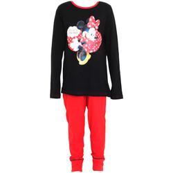 Kleidung Mädchen Pyjamas/ Nachthemden Disney  Schwarz/Rot