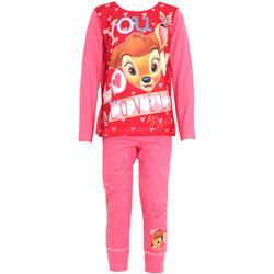 Kleidung Mädchen Pyjamas/ Nachthemden Disney  Pink/Rot