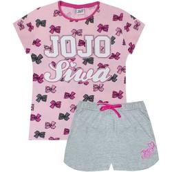 Kleidung Mädchen Pyjamas/ Nachthemden Jojo Siwa  Rot