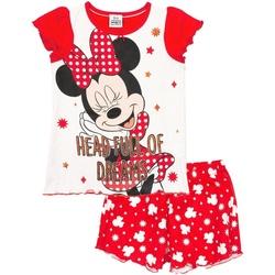 Kleidung Mädchen Pyjamas/ Nachthemden Disney  Rot/Weiß
