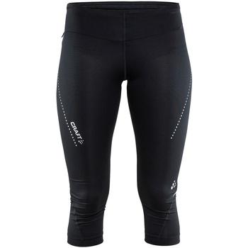 Kleidung Damen 3/4 Hosen & 7/8 Hosen Craft CT60F Schwarz