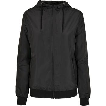 Kleidung Damen Jacken Build Your Brand BY147 Schwarz