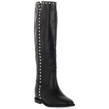 Schuhe Damen Klassische Stiefel Priv Lab VITELLO NERO Nero