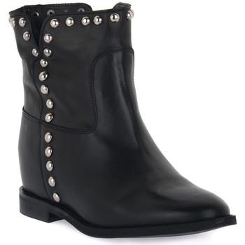 Schuhe Damen Low Boots Priv Lab VITELLO NERO Nero