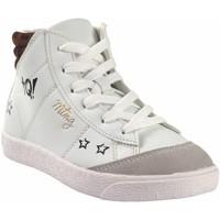Schuhe Mädchen Sneaker High MTNG Mädchenstiefelette MUSTANG KIDS 48396 weiß Weiss