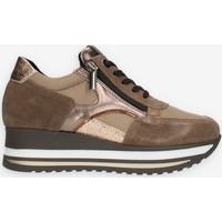 Schuhe Damen Sneaker Low Comart 1A4018PM Braun