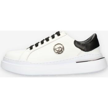 Schuhe Damen Sneaker Low Byblos Blu BB040 Weiss