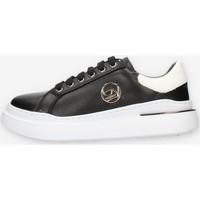 Schuhe Damen Sneaker Low Byblos Blu BB040 Schwarz