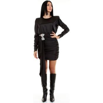 Kleidung Damen Kurze Kleider Aniye By 181241 Schwarz
