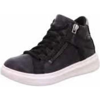Schuhe Mädchen Sneaker High Superfit Schnuerschuhe 1-006451-0010 0010 schwarz