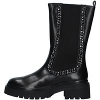 Schuhe Damen Klassische Stiefel Apepazza F1COMBAT17/LEA SCHWARZ