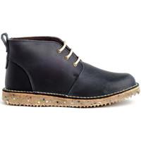 Schuhe Damen Sneaker High Colour Feet 21075 Blau