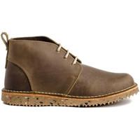 Schuhe Damen Low Boots Colour Feet 21075 Braun