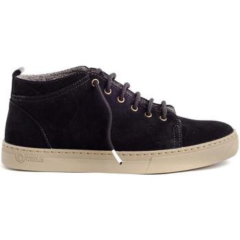 Schuhe Herren Boots Natural World 6721 Schwarz