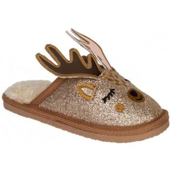 Schuhe Kinder Hausschuhe Conguitos KI1 221 06 Braun