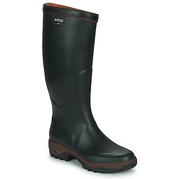 Schuhe Herren Gummistiefel Aigle PARCOURS 2 Grün