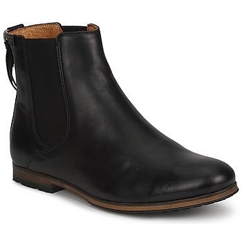 Schuhe Damen Boots Aigle MONTAIGU Schwarz