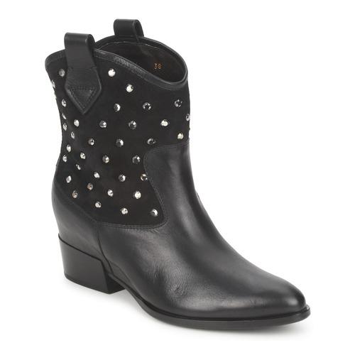 Schuhe Damen Boots Alberto Gozzi GIANNA Schwarz