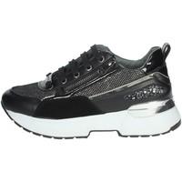 Schuhe Damen Sneaker High Keys K-5542 Schwarz
