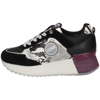 Schuhe Damen Sneaker Low Colmar TRAVIS REPTILE Schwarz
