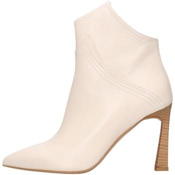 Schuhe Damen Low Boots Albano 1007a Tronchetto Frau Beige