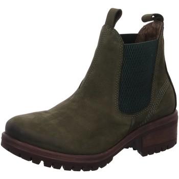 Schuhe Damen Stiefel Lazamani Stiefeletten 68.001 grün