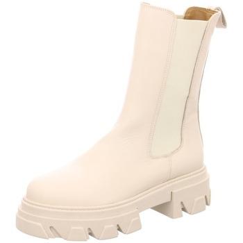 Schuhe Damen Stiefel Lazamani Stiefelette ecru