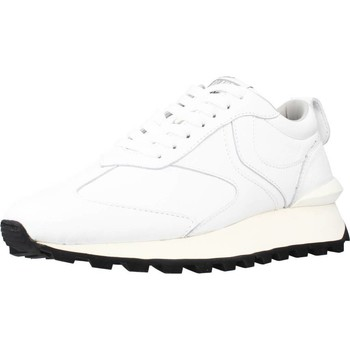 Schuhe Herren Sneaker Low Voile Blanche QWARK MAN CALF Weiß
