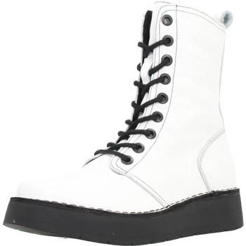 Schuhe Damen Low Boots Fly London RAMI043 Weiß