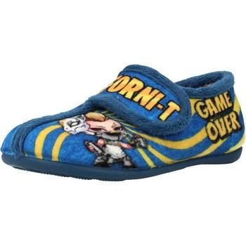 Schuhe Jungen Hausschuhe Chispas 65620021 Blau