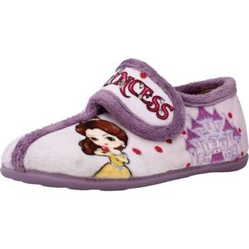 Schuhe Mädchen Hausschuhe Chispas 65620029 Violett