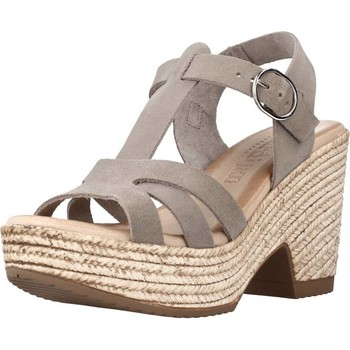 Schuhe Damen Sandalen / Sandaletten Chardi 4030CH Grau