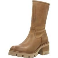 Schuhe Damen Stiefel Porronet 4346P Brown