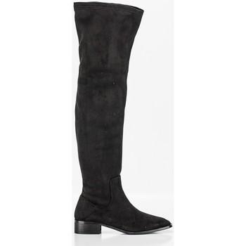 Schuhe Damen Klassische Stiefel Corina M1801 Noir