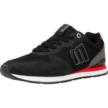 Schuhe Herren Sneaker Low MTNG 84467M Schwarz
