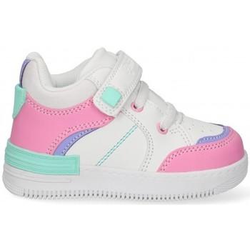 Schuhe Mädchen Sneaker Low Bubble 58897 weiss