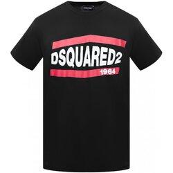 Kleidung Herren T-Shirts Dsquared S74GD0639 Schwarz