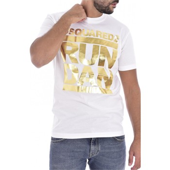 Kleidung Herren T-Shirts Dsquared S74GD0445 Weiss