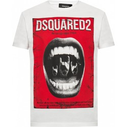 Kleidung Herren T-Shirts Dsquared S74GD0476 Weiss