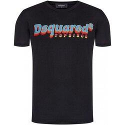 Kleidung Herren T-Shirts Dsquared S71GD0886 Schwarz
