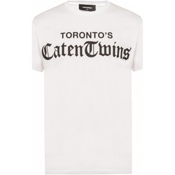 Kleidung Herren T-Shirts Dsquared S71GD0778 Weiss