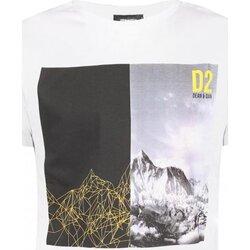 Kleidung Herren T-Shirts Dsquared S74GD0265 Weiss