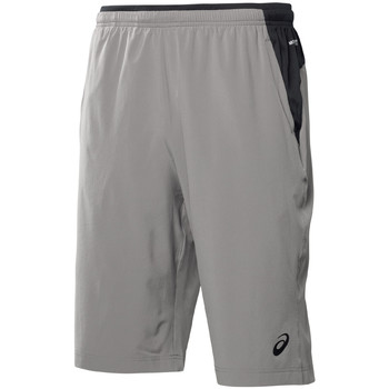 Shorts Asics Performance Long Woven Short grau 350x350