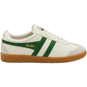 Schuhe Herren Sneaker Low Gola Hurricane Leather Creme