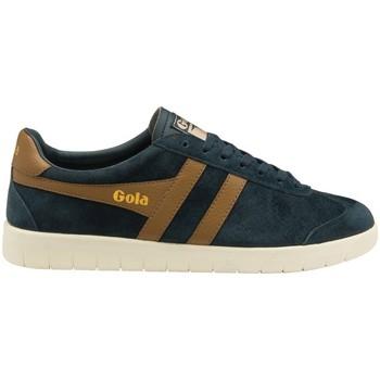 Schuhe Herren Sneaker Low Gola Hurricane Suede Dunkelblau