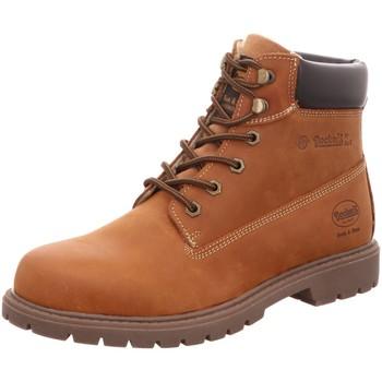 Schuhe Herren Stiefel Dockers by Gerli 45PA140400410 braun